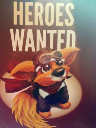 Hereos Wanted