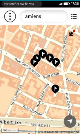 Application de cartographie