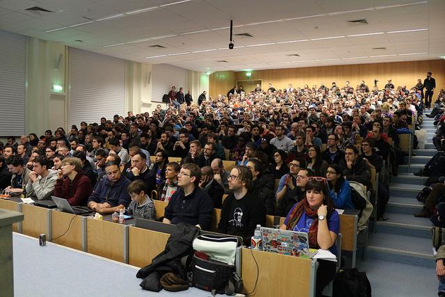 Mozilla Devroom comble au FOSDEM 2015, Christos Bacharakis