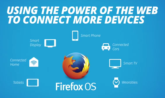 Firefox OS using the power of the web to connect more devices