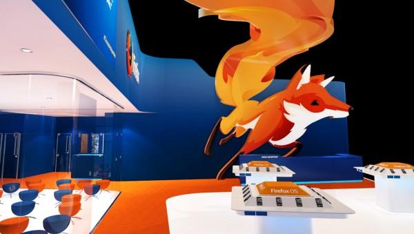Stand Mozilla au  MWC 2015