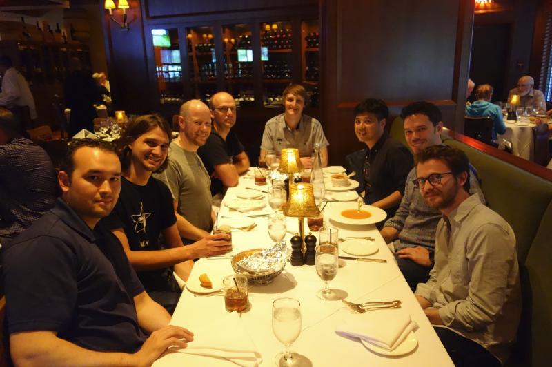 Certains des grands cerveaux derrière Firefox OS (et moi), Whistler, juin 2015