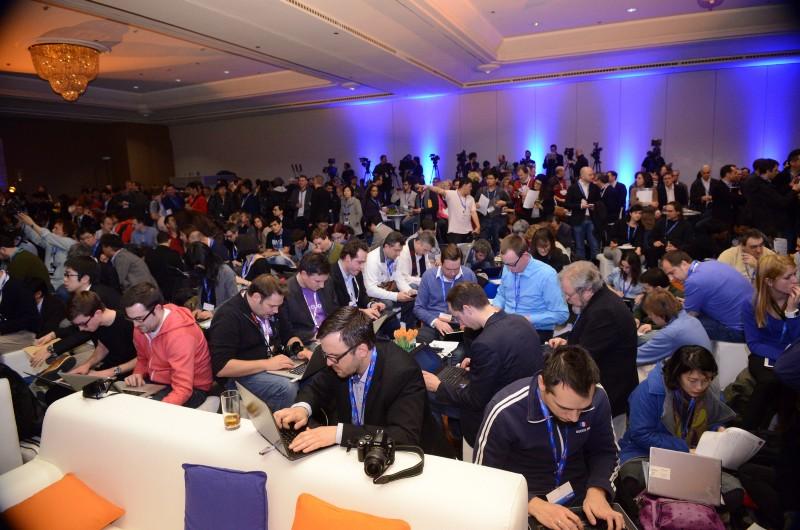 Conférence de presse de Firefox OS, MWC 2013, Barcelone