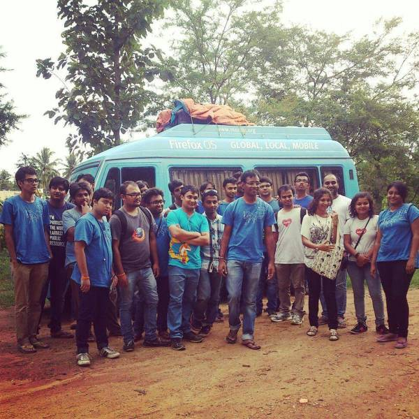 Le bus Firefox OS en Inde
