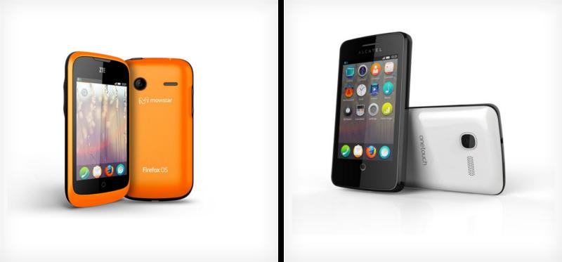 Téléphones ZTE Open et Alcatel One Touch
