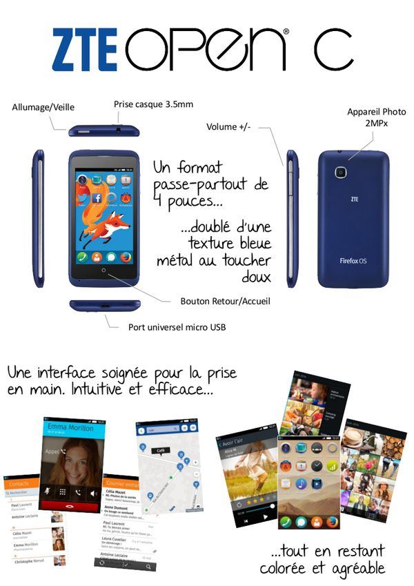 ZTE Open C par ZTE France (illustration 2)