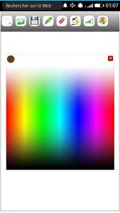 Draw appdujour palette de couleurs