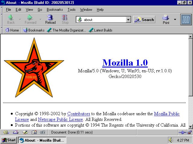 Mozilla 1.0
