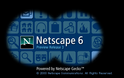 Netscape 6.0 Preview Release 3