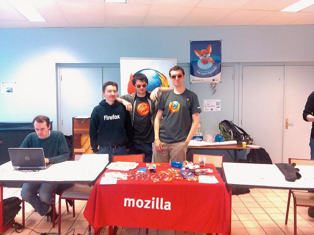 Stand Mozilla aux JDLL 2015