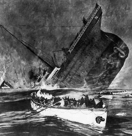 Titanic Netscape, chaloupe Mozilla