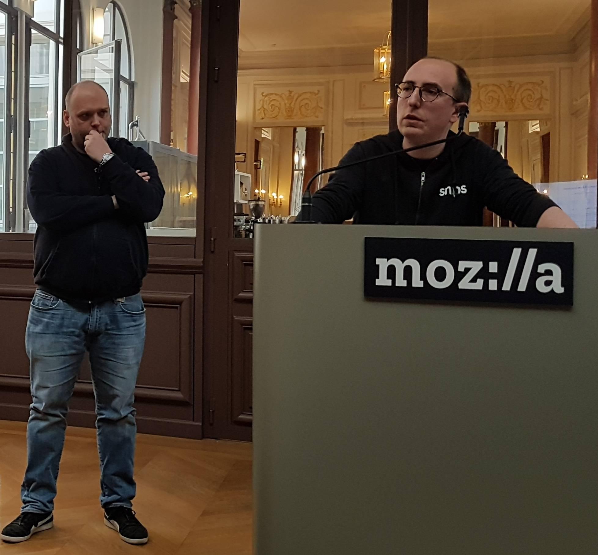 Mathieu Poumeyrol et Joseph Dureau de Snips