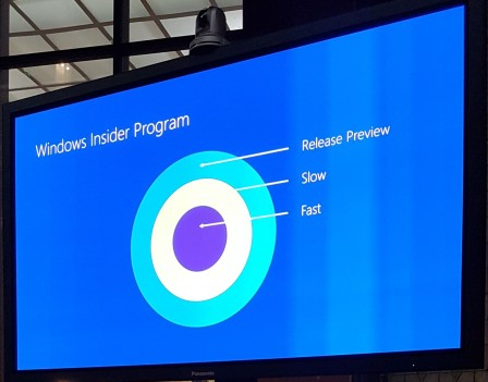 Préversions de Edge dans le programme Windows Insider