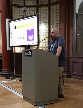Jérémie de Mozilla au pupitre pour WebAssembly