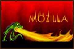 Splashscreen de Mozilla 1.0