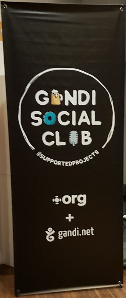 Bannière du Gandi Social Club