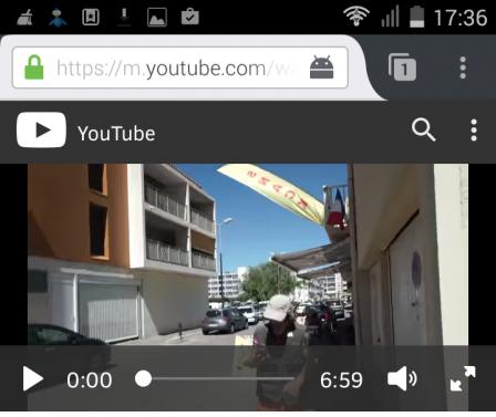 Firefox 48 : lecteur vidéo