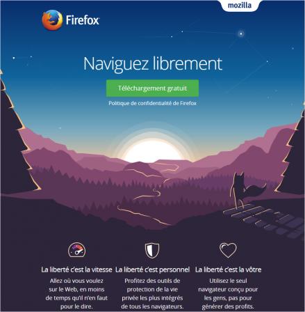 Firefox 49 : Mozilla : page de téléchargement