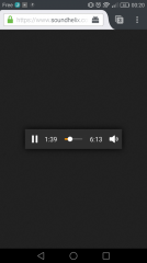Firefox pour Android 52 : commandes audio