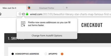 Firefox 56 en-US : auto-remplissage des formulaires