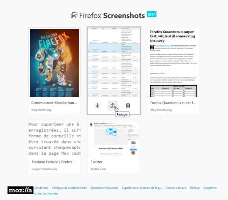 Firefox 56 : Firefox Screenshots : galerie