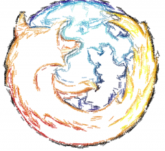 Firefox Textorized par Paul Downey