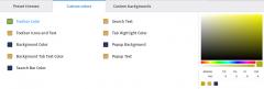Firefox color : custom