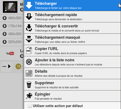 Video DownloadHelper emplacement