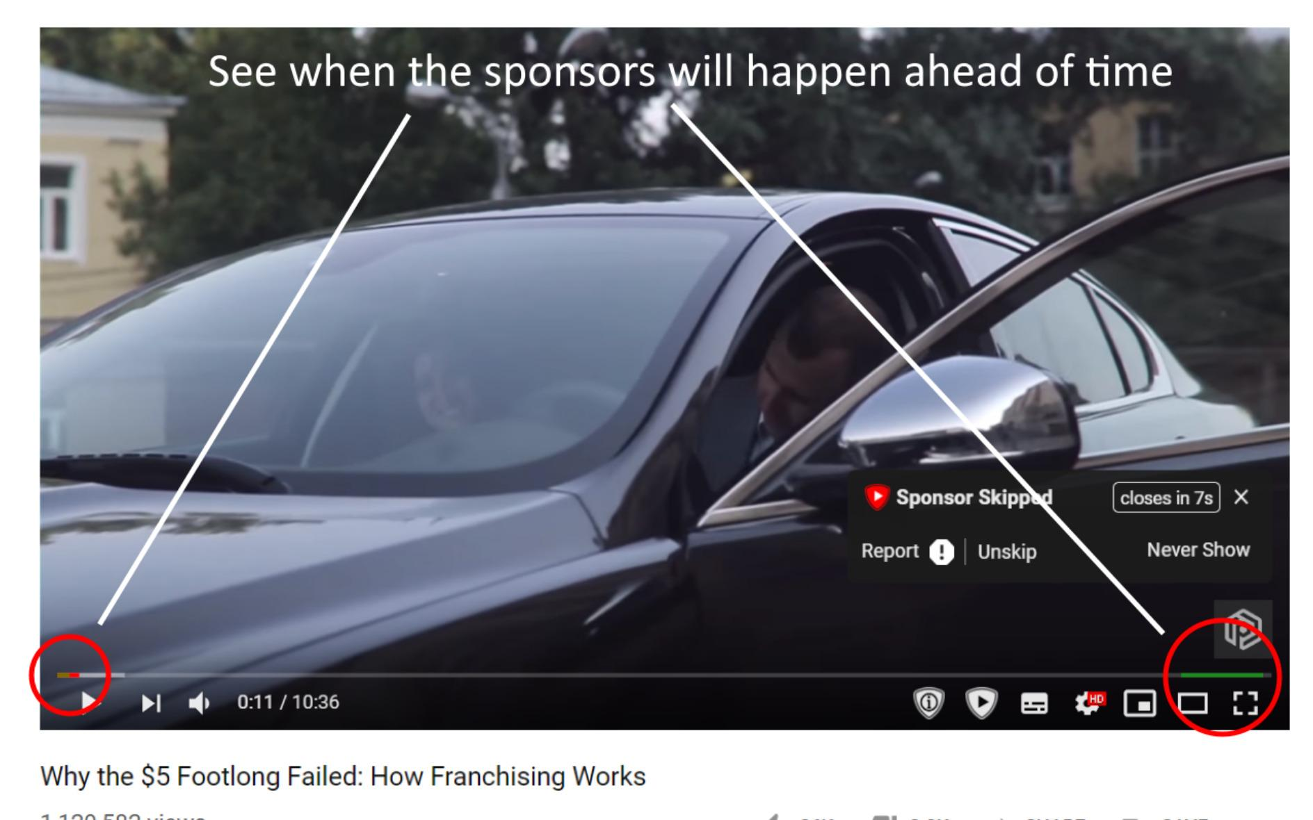 SponsorBlock s'attaque à la nuisance de ce nouveau type de publicités vidéo plus intrusives