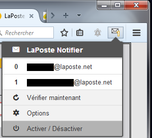 LaPoste Notifier