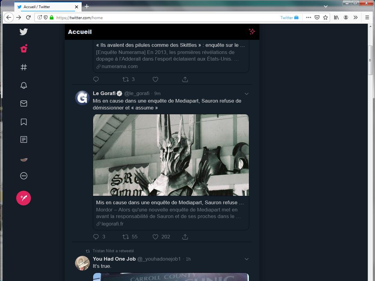 Nouveau Twitter avec Productive Twitter