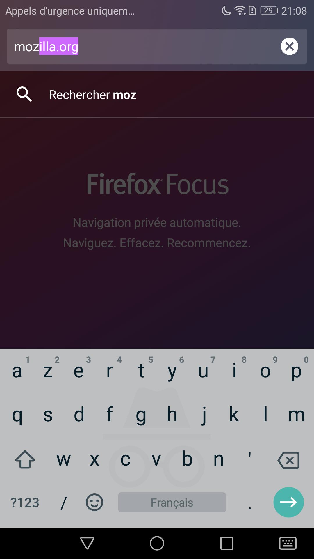 Firefox Focus pour Android se met aux onglets - Communauté