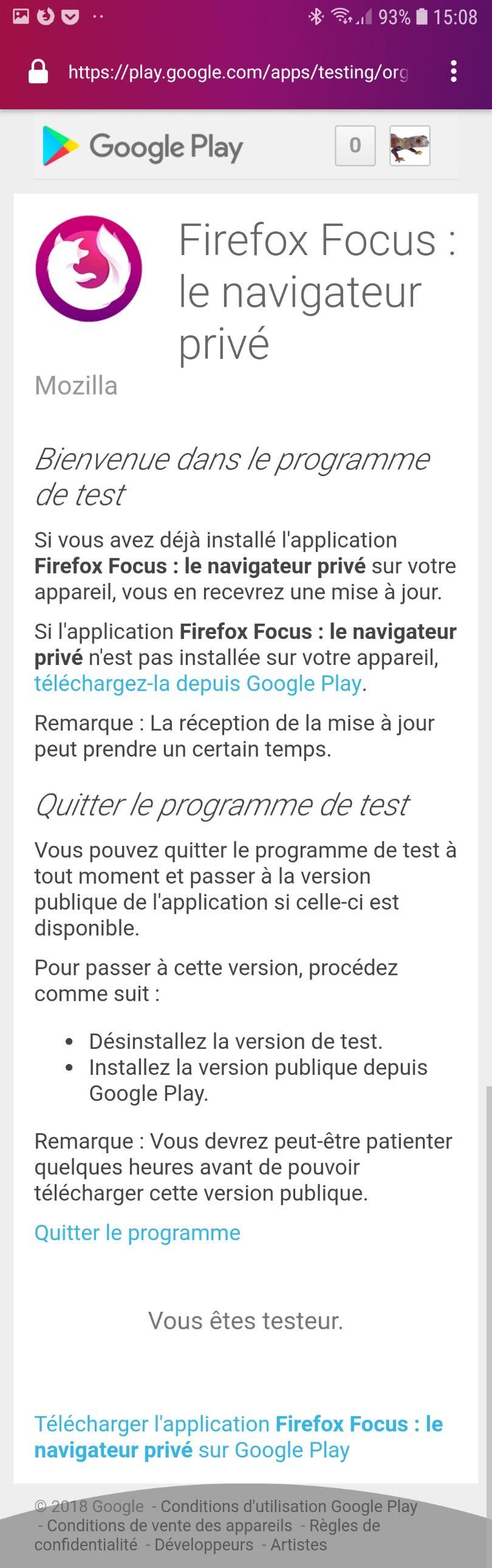 GeckoView, le futur moteur de rendu dans Firefox Focus - Communauté