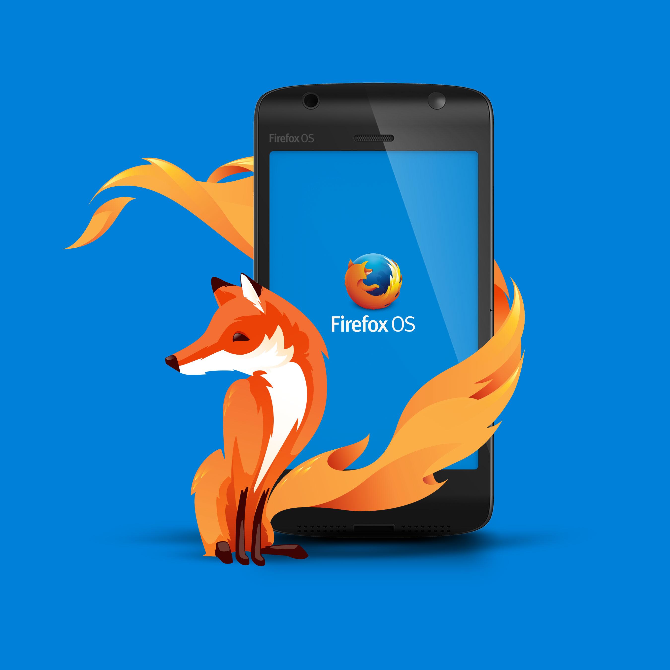 Firefox OS avec le Fox