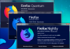 À propos de Firefox Quantum, Firefox Developer Edition et Firefox Nightly