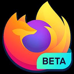 Logo 2019 de Mozilla Firefox bêta