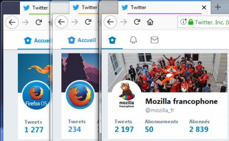 Containers : 3 comptes Twitter simultanés