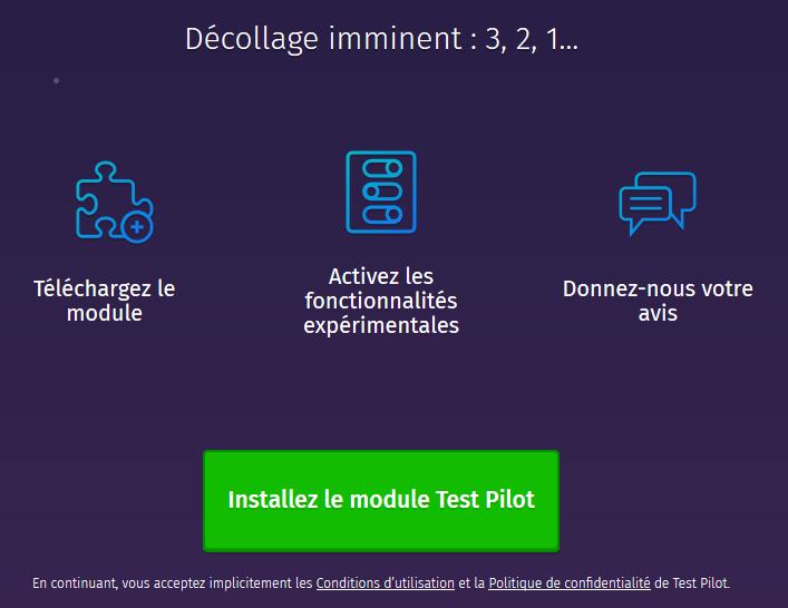 Firefox Test Pilot : décollage imminent 3, 2, 1…