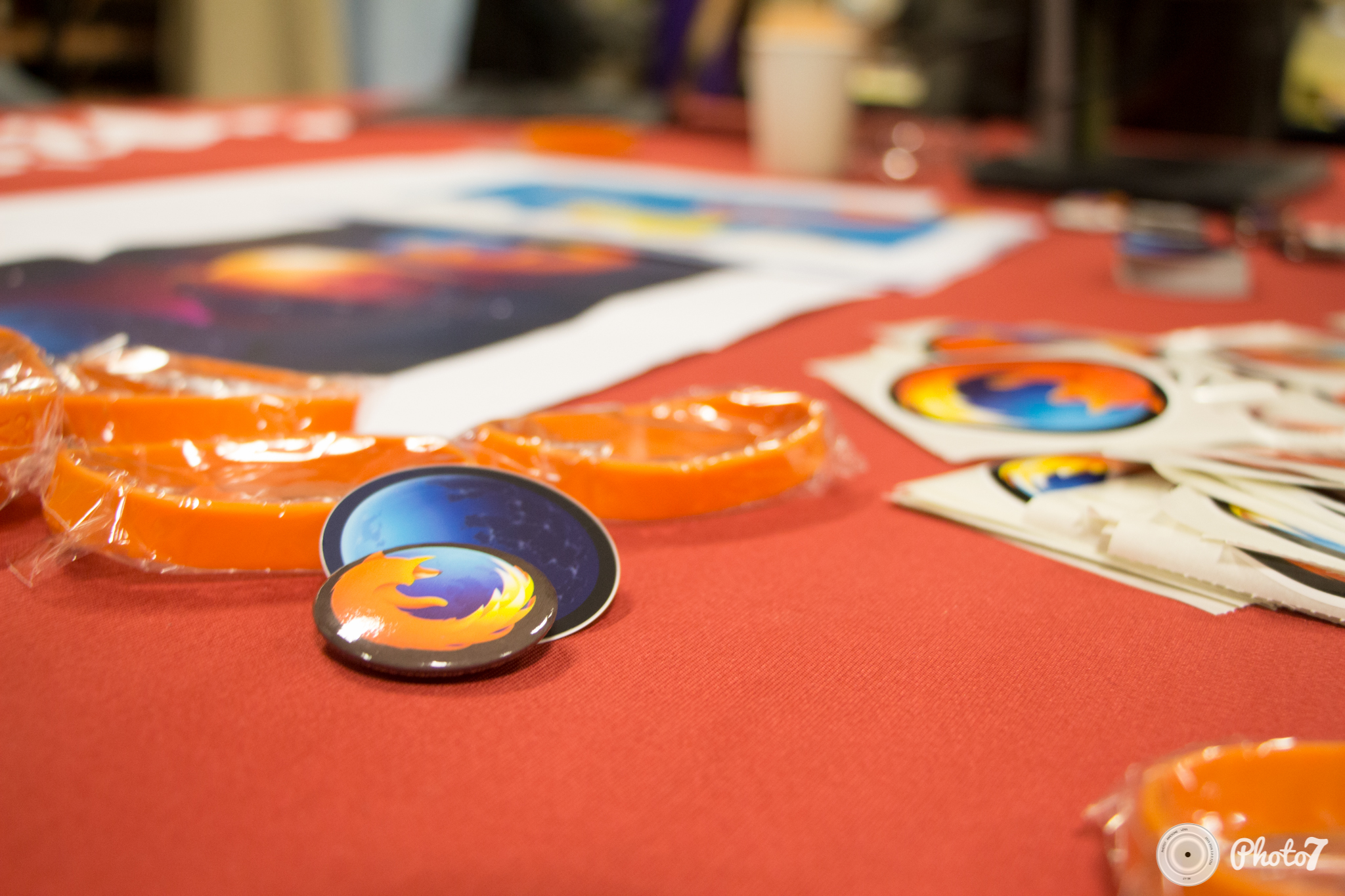 Capitole du Libre 2016 : stickers Firefox