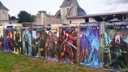 Les affiches des éditions précédentes des Geek Faeries