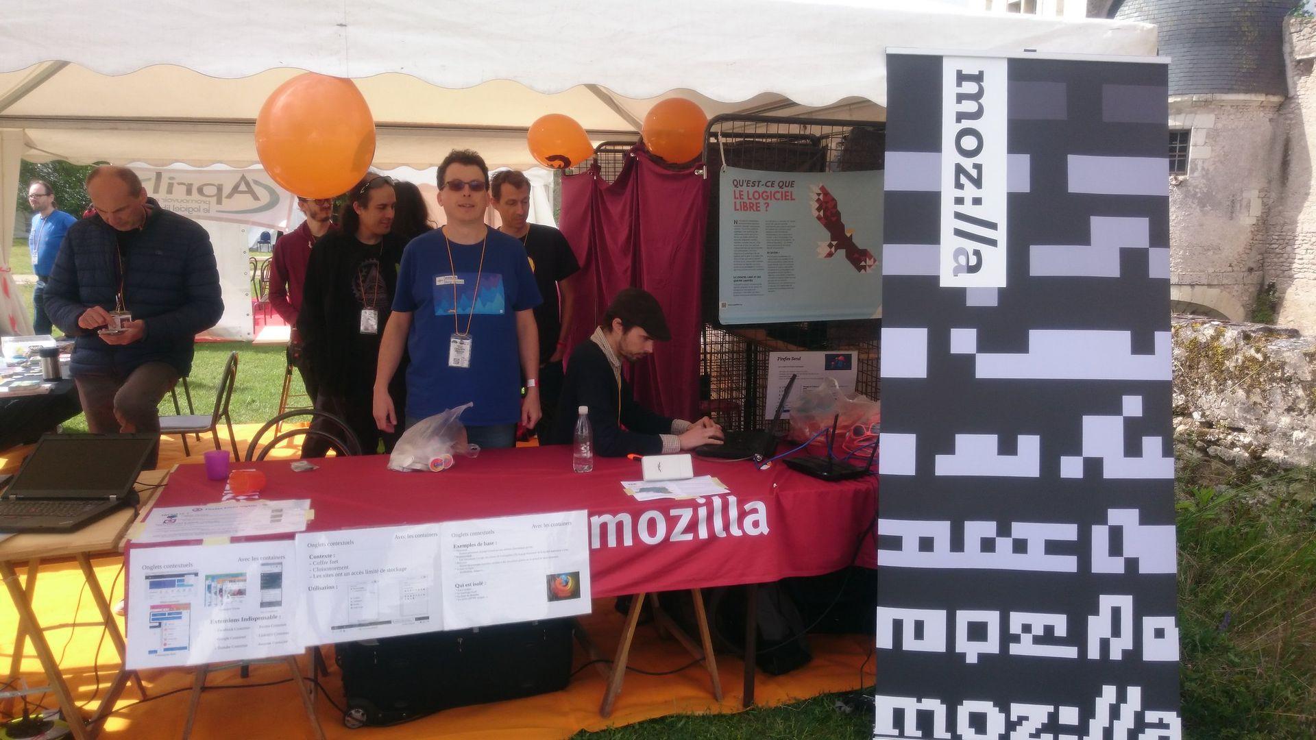 Geek faeries 2019 - Stand Mozilla