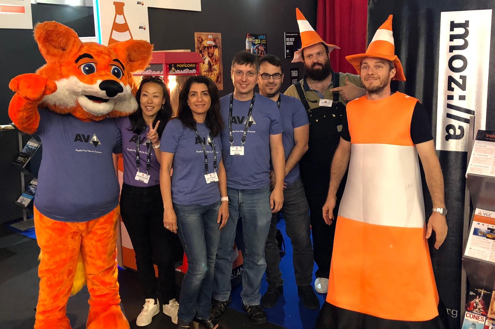 Mozilla et VideoLAN à l'IBC2018