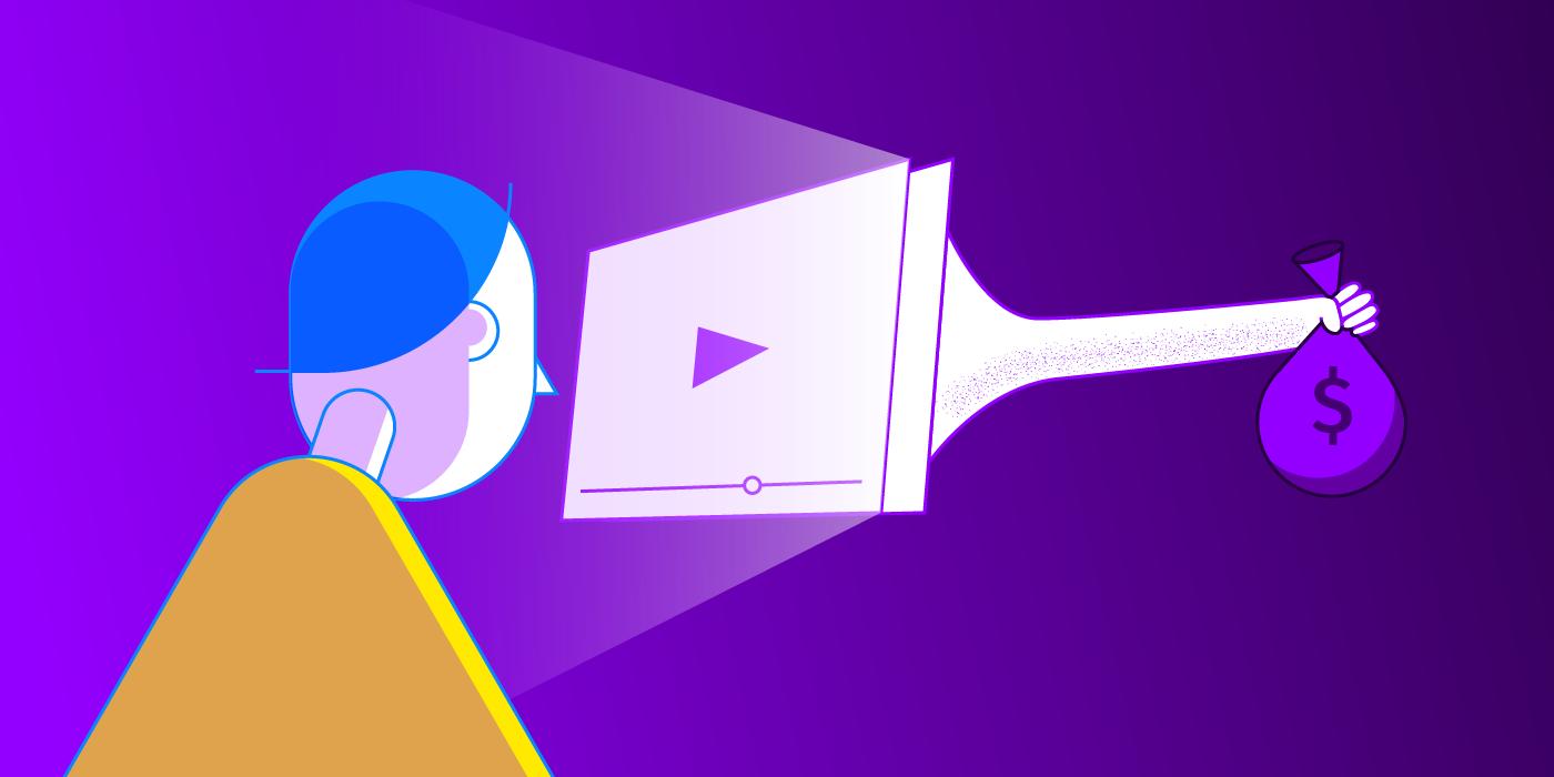 Regarder une vidéo coûte