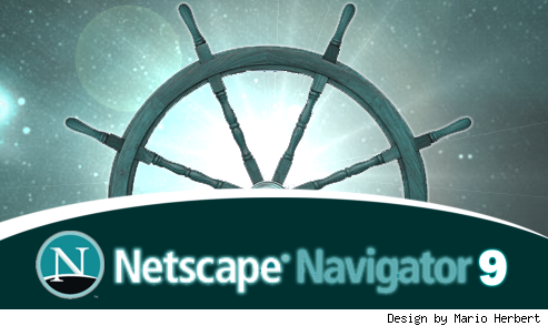Splashscreen de Netscape 9